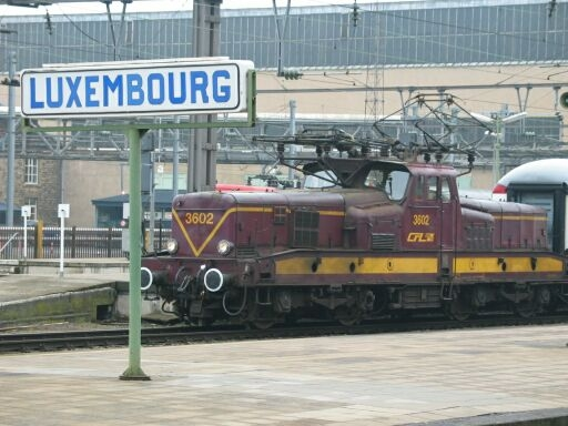 Luxembourg Hbf CFL 3608